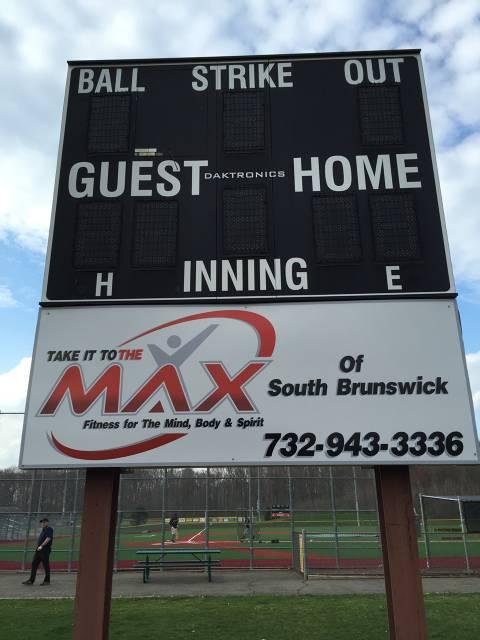 South Brunswick Athletic Association Scoreboard MAX