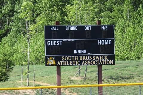 South Brunswick Athletic Association Scoreboard
