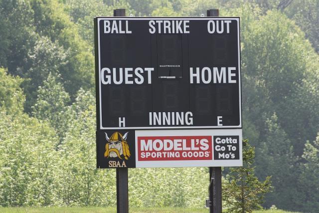 South Brunswick Athletic Association Scoreboard Modells