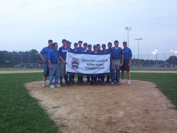 2003 New York State Champs - Seniors Tournament Team