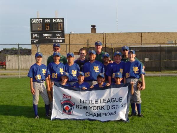 2003 District 31 Champs - Majors Tournament Team