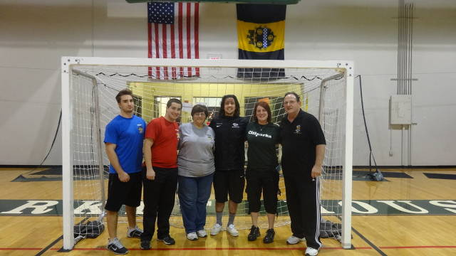 BIG Staff For Futsal Tournament with Nick Kolarac from The Pittsburgh Riverhounds.