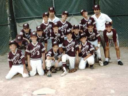 1980 s Tourn team Photo