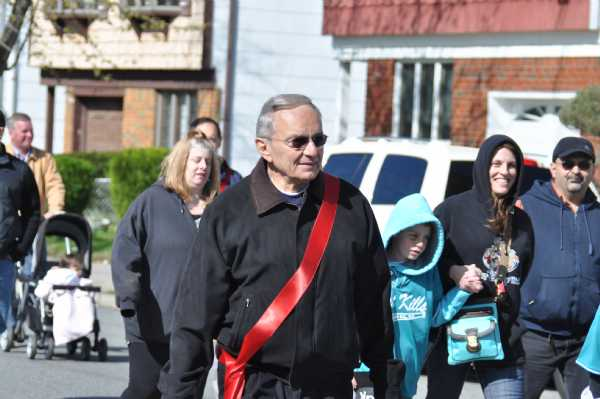 Clem Imperatto, Grand Marshall in the parade.