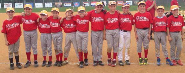Minors 2015 Champions - Phillies