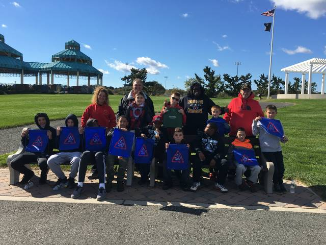Panthers Give Back - South Amboy Waterfront