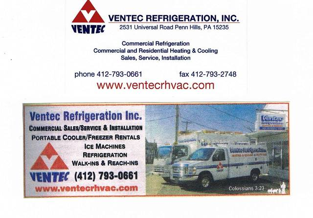Ventec Refrigeration Inc.