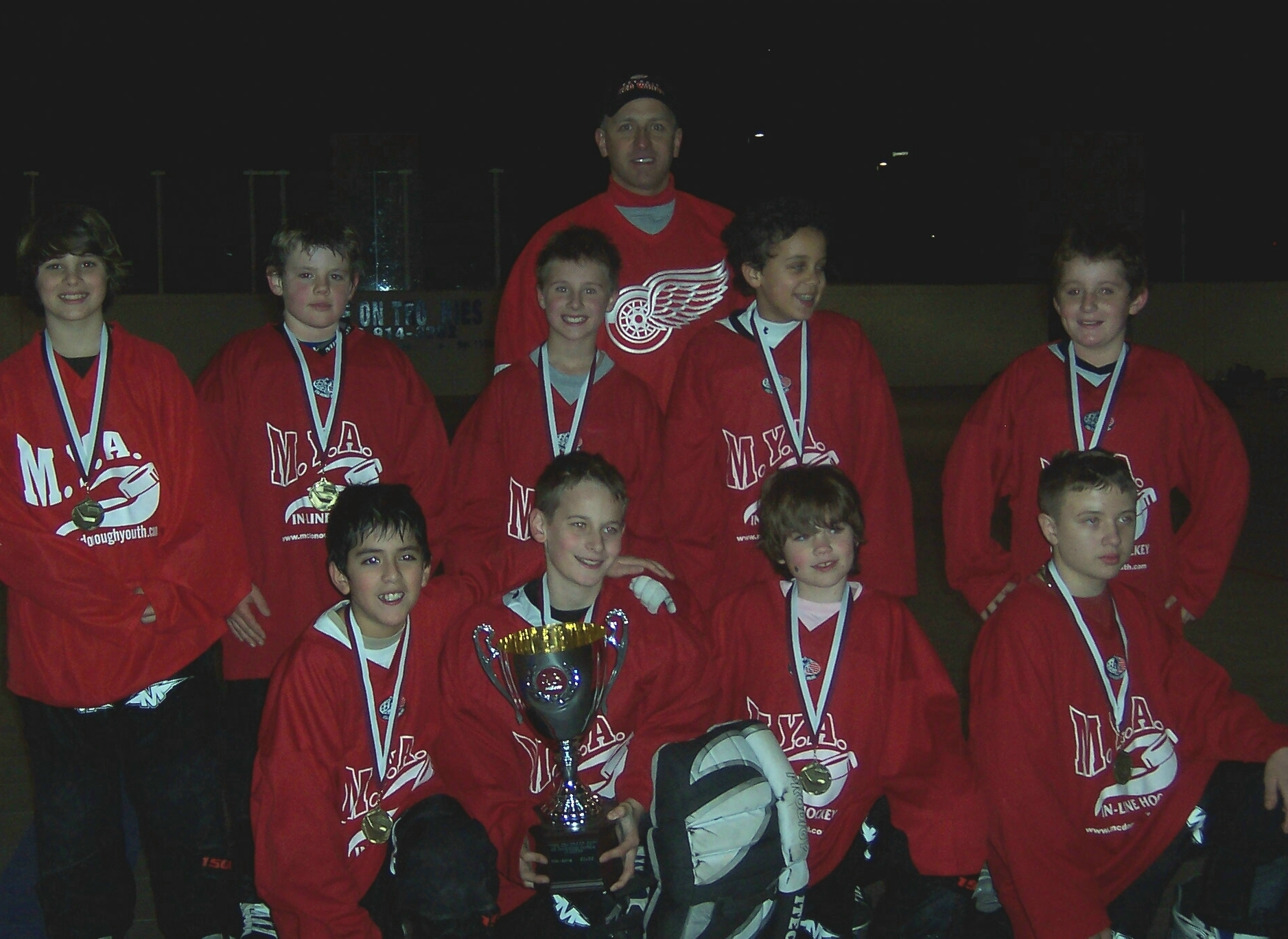 Champions 2006 Fall MH Red Wings