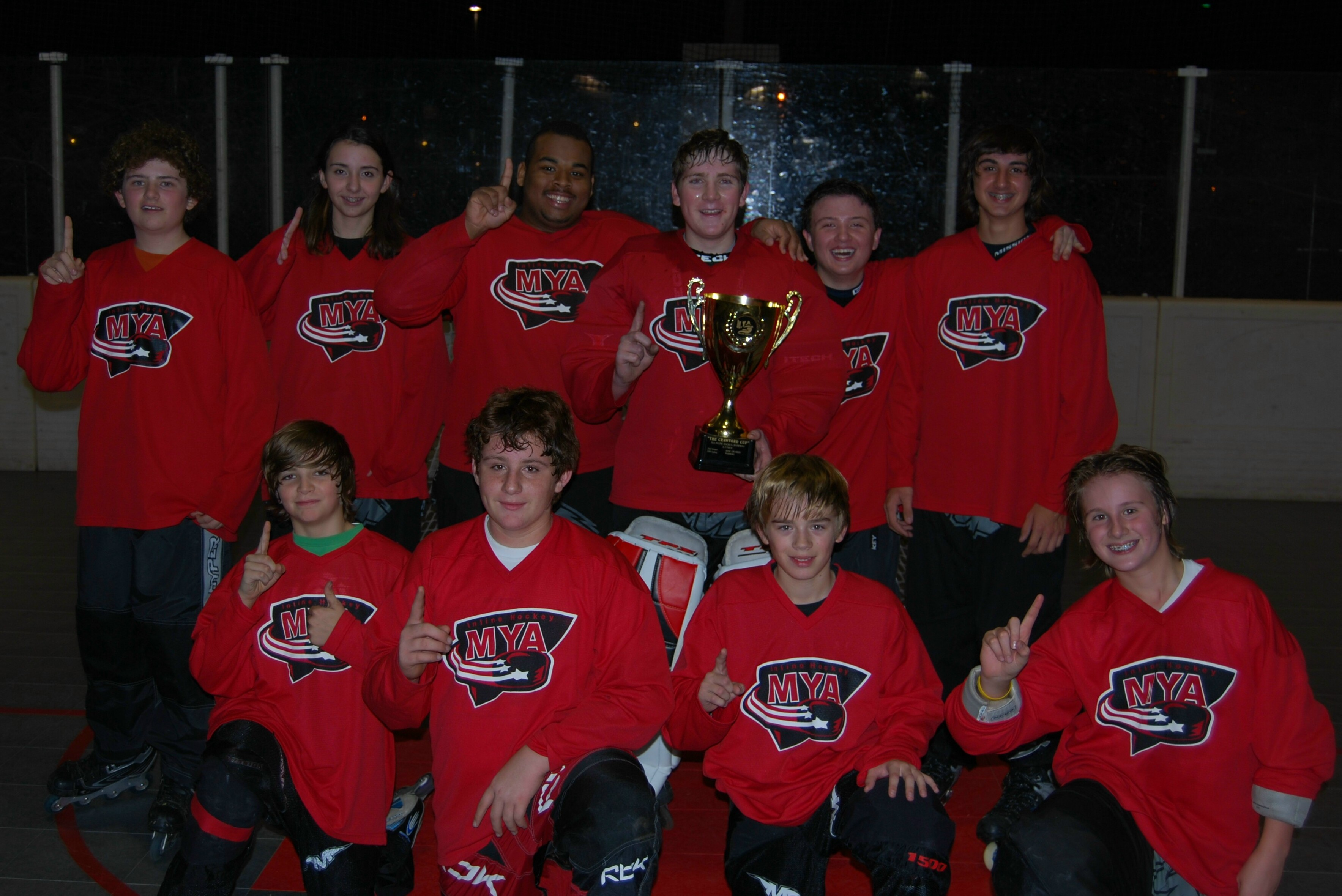 Champions 2009 Fall UH Red Wings