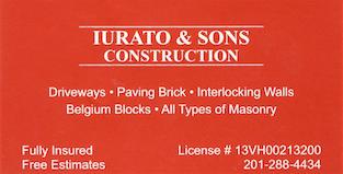 Iurato & Sons Construction