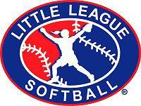 Little League Logo Softball