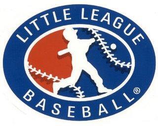 Little League Logo Baseball