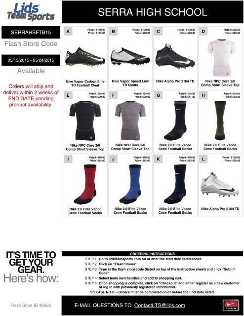 Nike online fundraiser #2