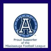 Toronto Argos Proud Supporter of the Mississauga Football League