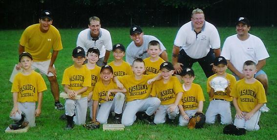 2005.  The 8 year old Eagles Travel Team won the MMTA 8U Tournament.