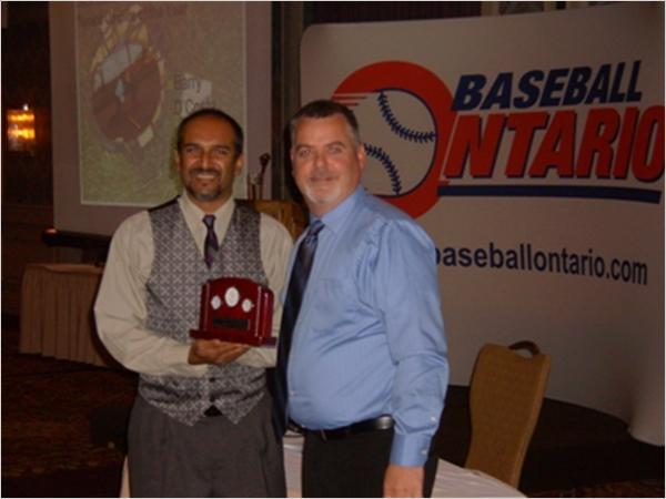 Barry DaCosta OBA umpire of the year 2012