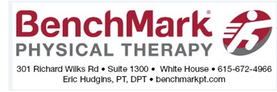 BENCHMARK PHYSICAL THERAPY
