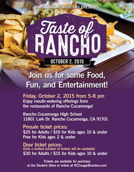 Taste of Rancho