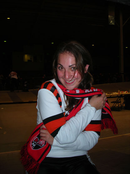 Bombers Lisa Hartmayer