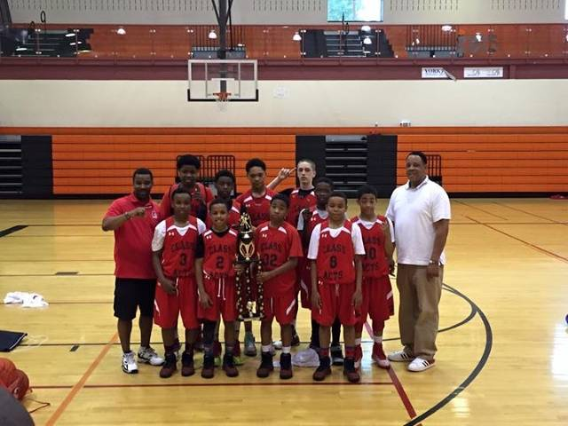 6th Grade Champs York Ballers Tourney