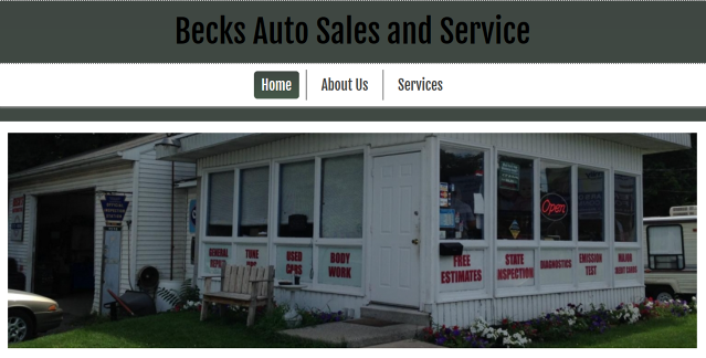 Beck's Auto Sales and Service