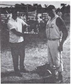 (Photo) 1st Place Trophy to John Guilfoyle of Lisle 1965