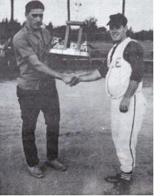 (Photo) 1st Place Trophy to Bud Anderson of Lisle 1966