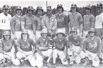 (Photo) Alliston Leafs – O.B.A. Juvenile 'D'Champions 1978