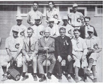 (Photo) Horning's Mills Maple Leafs, 1930