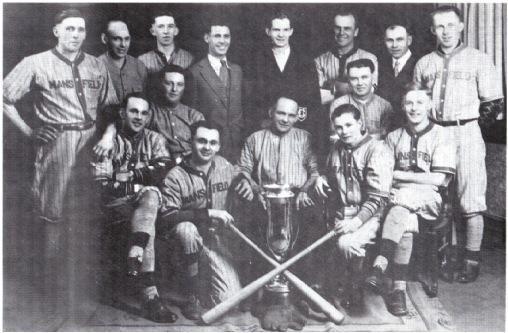 (Photo) Mansfield Baseball Team – N.D.B.L. Champions 1932