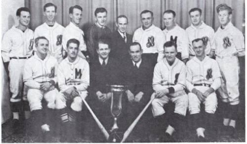 (Photo) Mansfield Baseball Team – N.D.B.L. Champions 1947