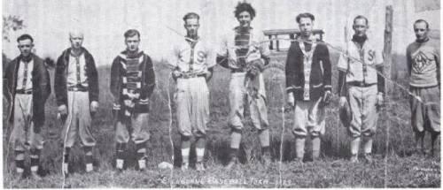 (Photo) Shelburne Baseball Team, 1929