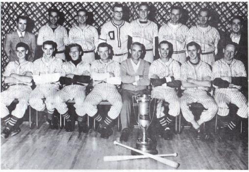 (Photo) Shelburne Baseball Team – N.D.B.L. 1957