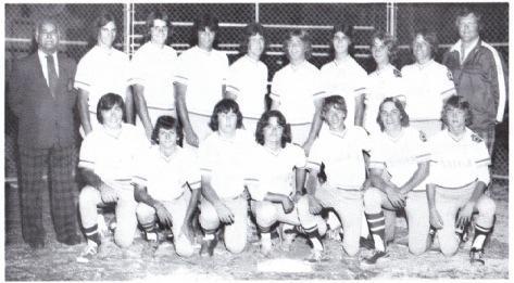(Photo) Stayner Legion Midgets – O.B.A. Midget 'D' Champions 1978