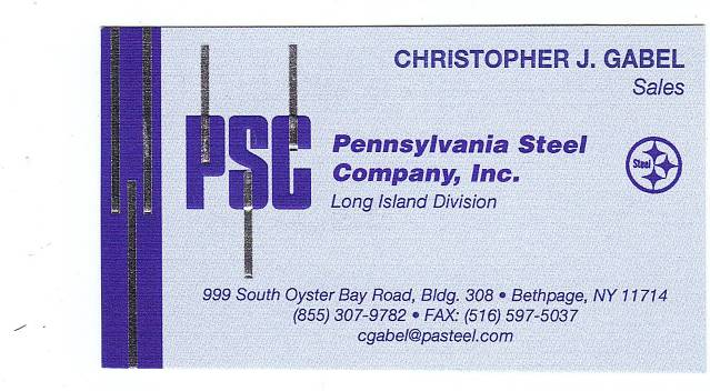 PSC  PENNSYLVANIA STEEL CO. INC.LONG ISLAND DIV
