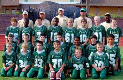 "2006 Timucua Conference Pee Wee Division Champions - The Villages ""Buffalo"""