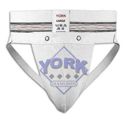 "No catcher in his right mind would dare step behind the dish without his protective cup. But what happens when the ""protector of the family jewels"" is left at home or has straps that have frayed due to the shear duress of containing such a package? Introducing the York Diamonds Community Cup. Gracefully passed from player to player, the Community Cup eliminates the need for a complete team set of protective wear. Listen to these glowing endorsements: ""On a tight knit team like this, one cup is more than enough!"" raves Diamonds Skipper Paul Freeman. ""Nothing brings teammates closer than sharing Vinard"" – Neil Parekh.**Order now and receive a free Scratch and Sniff replica of the York Diamonds 2003 Finalists Community Cup.**... cat item 162383.... $84.76"