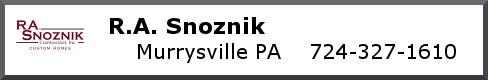 R.A. Snoznik Construction, Inc.