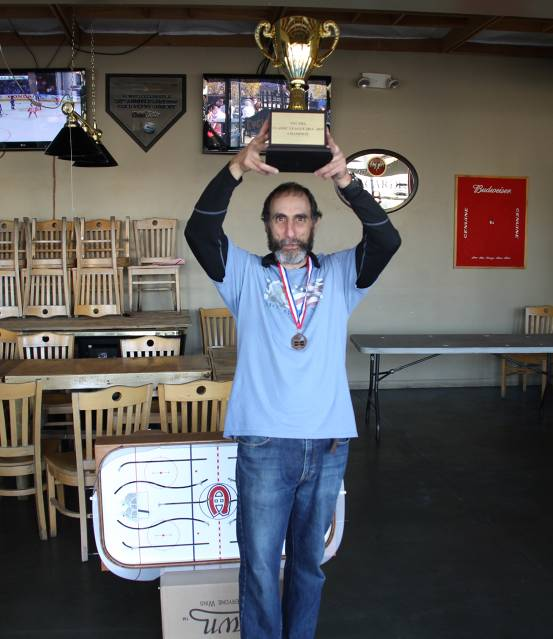 Lou defeated the three top rated players to win the NYCTHA 2015 Classic Cup.  Congratulations Lou!