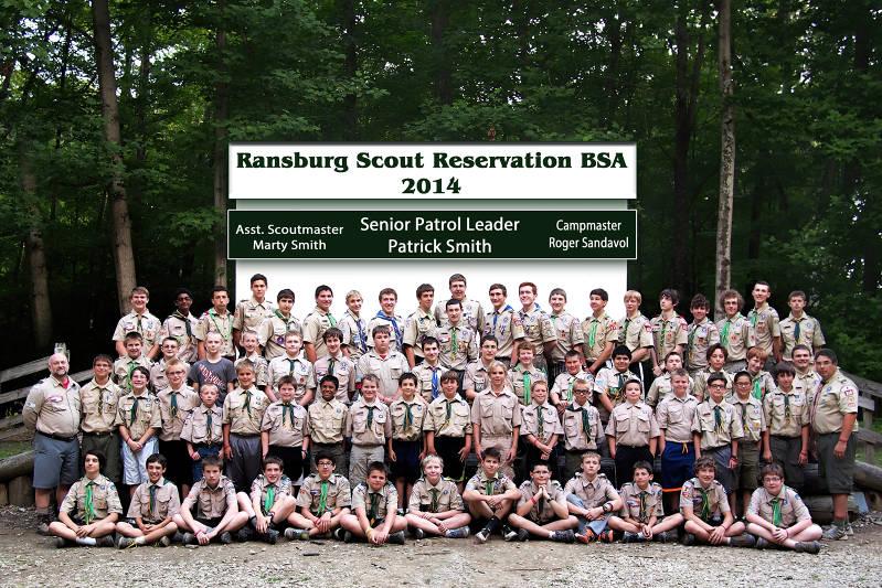 2014 Troop 318 Scouts