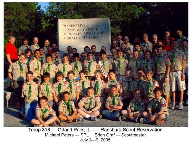 Camp Ransburg 2005