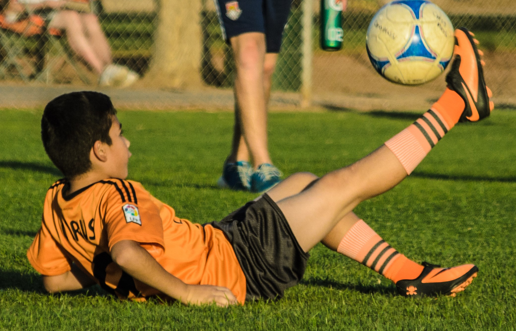 Just Kicking it!