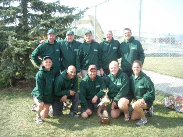 Steve Woods (MVP), Ray Dorval, Rick Malinowski, Dan Fitzsimmons, Doug MacLean & Paul Gilmour
