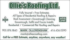 Ollie's Roofing