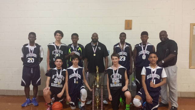 Congratulations to the 8th/14u team on winning the Potomac Valley district qualifying tournament