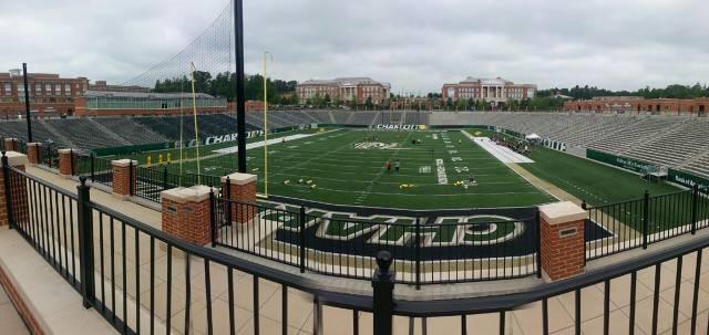 UNCC's Football Field
