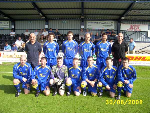 Walsham Le Willows First Team 2008/9 Season