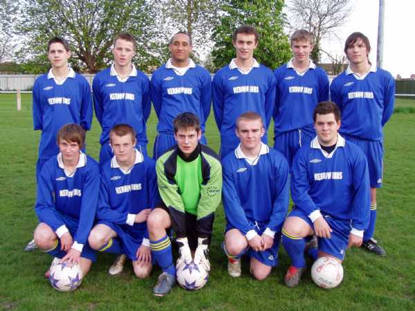 Under 18's Season 2006-2007 RUNNERS UP