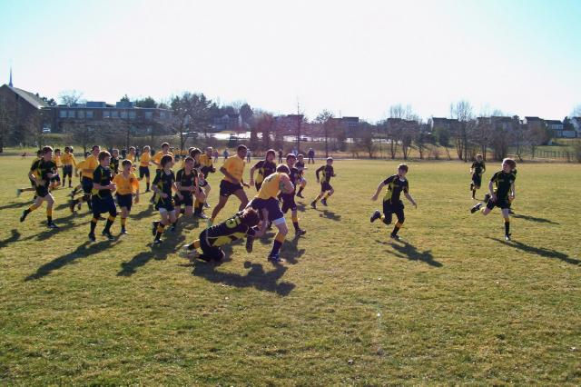 Vs. Downingtown at Linear Park - 3.11.12
