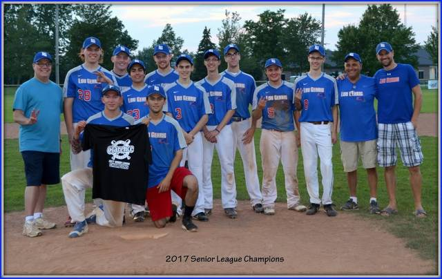 2017 Senior League Champs